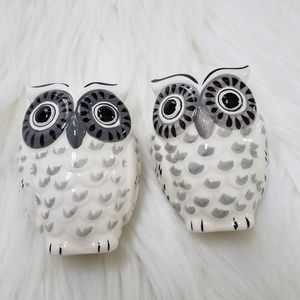 New Owl Salt And Pepper Shakers Decorative Kitchen